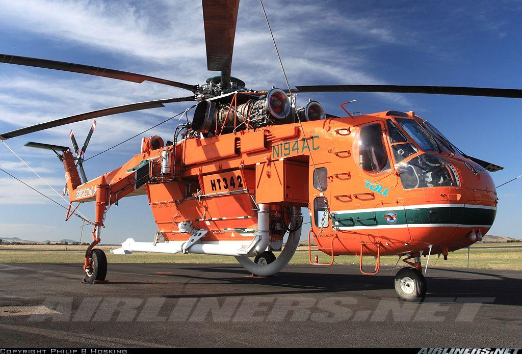 Sikorsky S64E Skycrane aircraft picture Erickson air