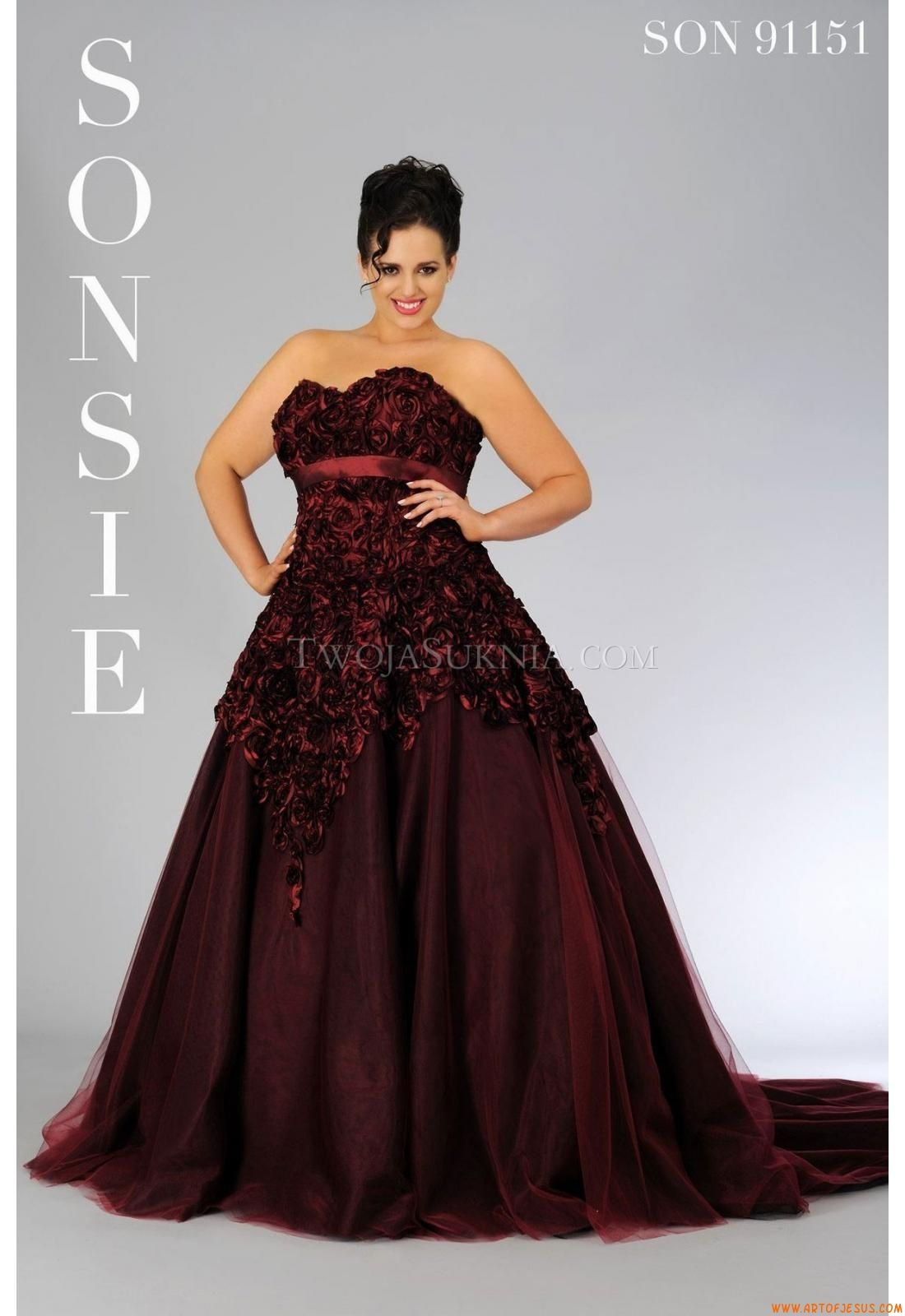 Tea length plus size wedding dresses  Wedding Dresses Veromia SON  Sonsie  plus size wedding dresses