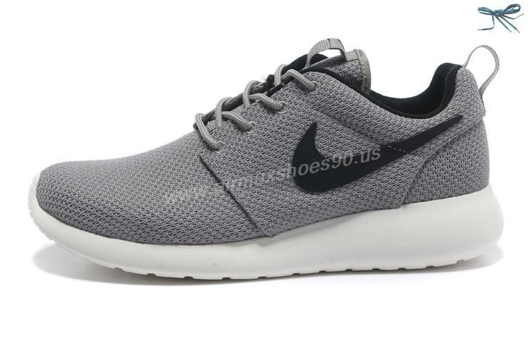 511881-061 Gray Black Nike Roshe Run Mens