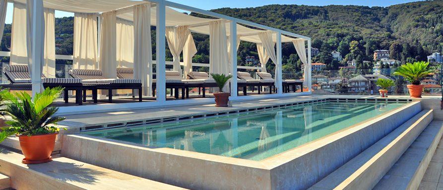 Hotel la palma stresa lago maggiore pools sky pool for Designhotel lago maggiore