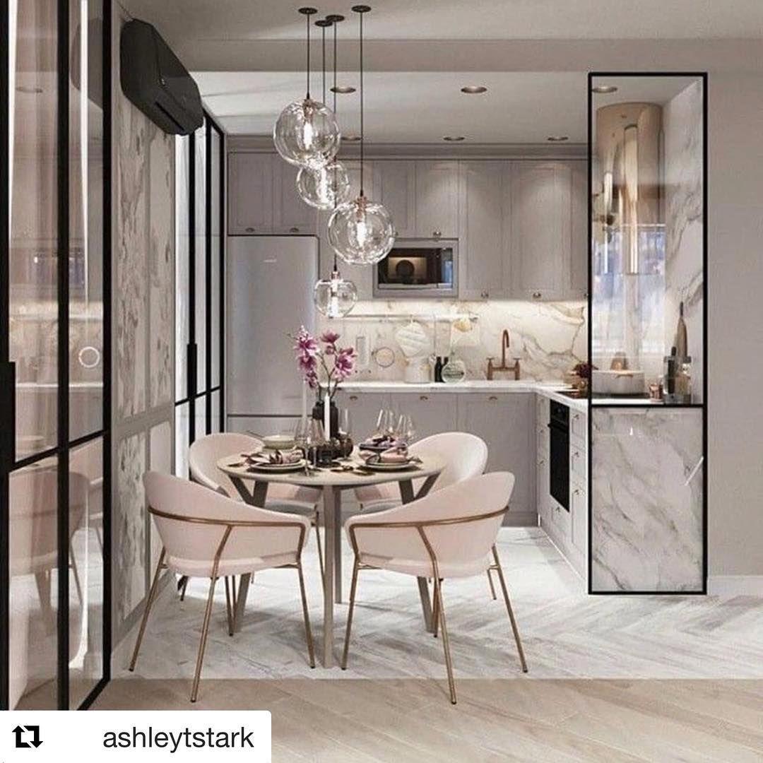Jody savino on instagram  cperfect kitchen in condo apartment space also elegant dining room lighting ideas interior design rh pinterest