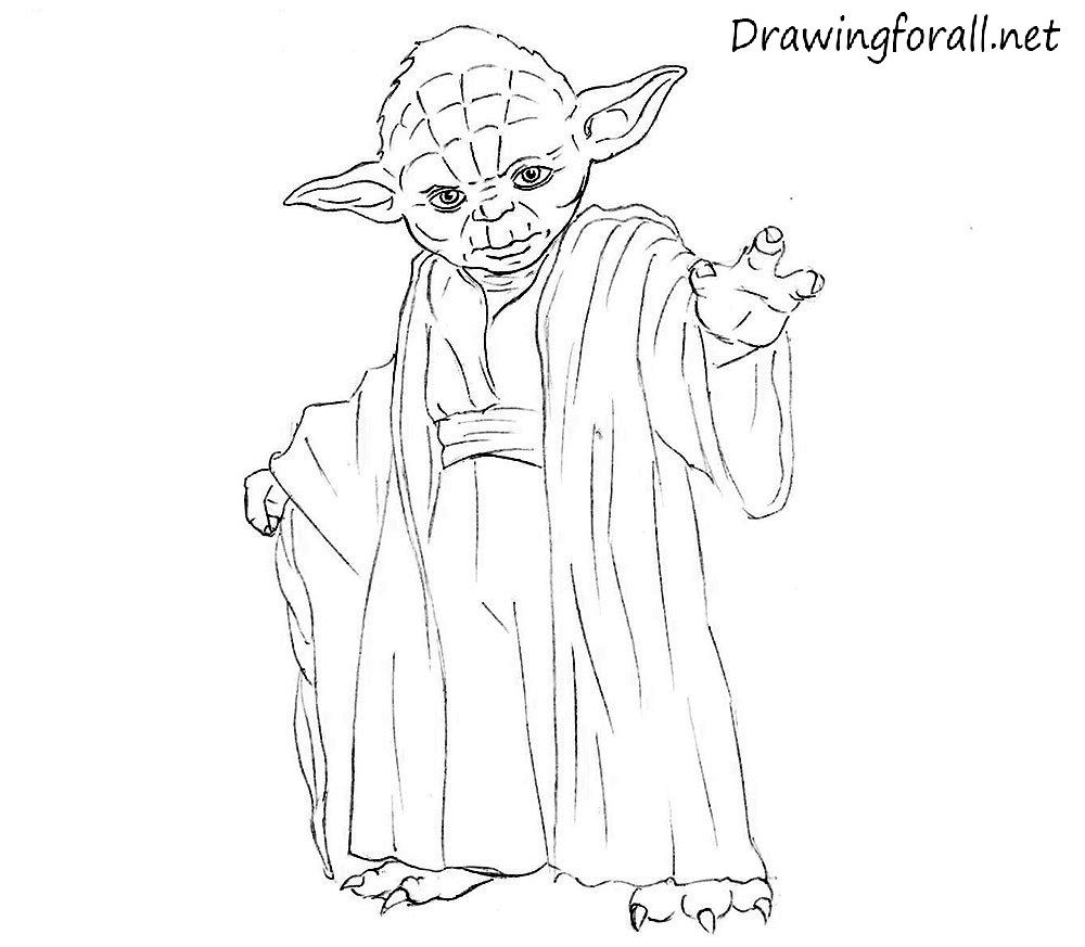 how to draw Yoda | Drawing | Pinterest | Tutorials and Patterns