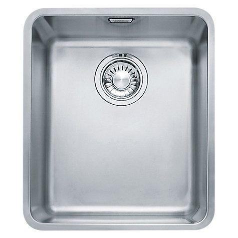 Buy Franke Kubus Kbx 110 34 Undermounted Single Bowl Kitchen Sink