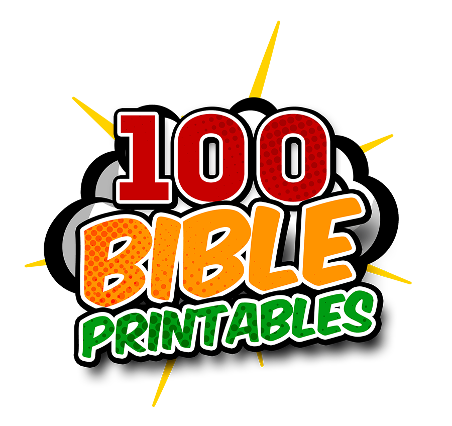 100 Bible Printables Mazes Coloring