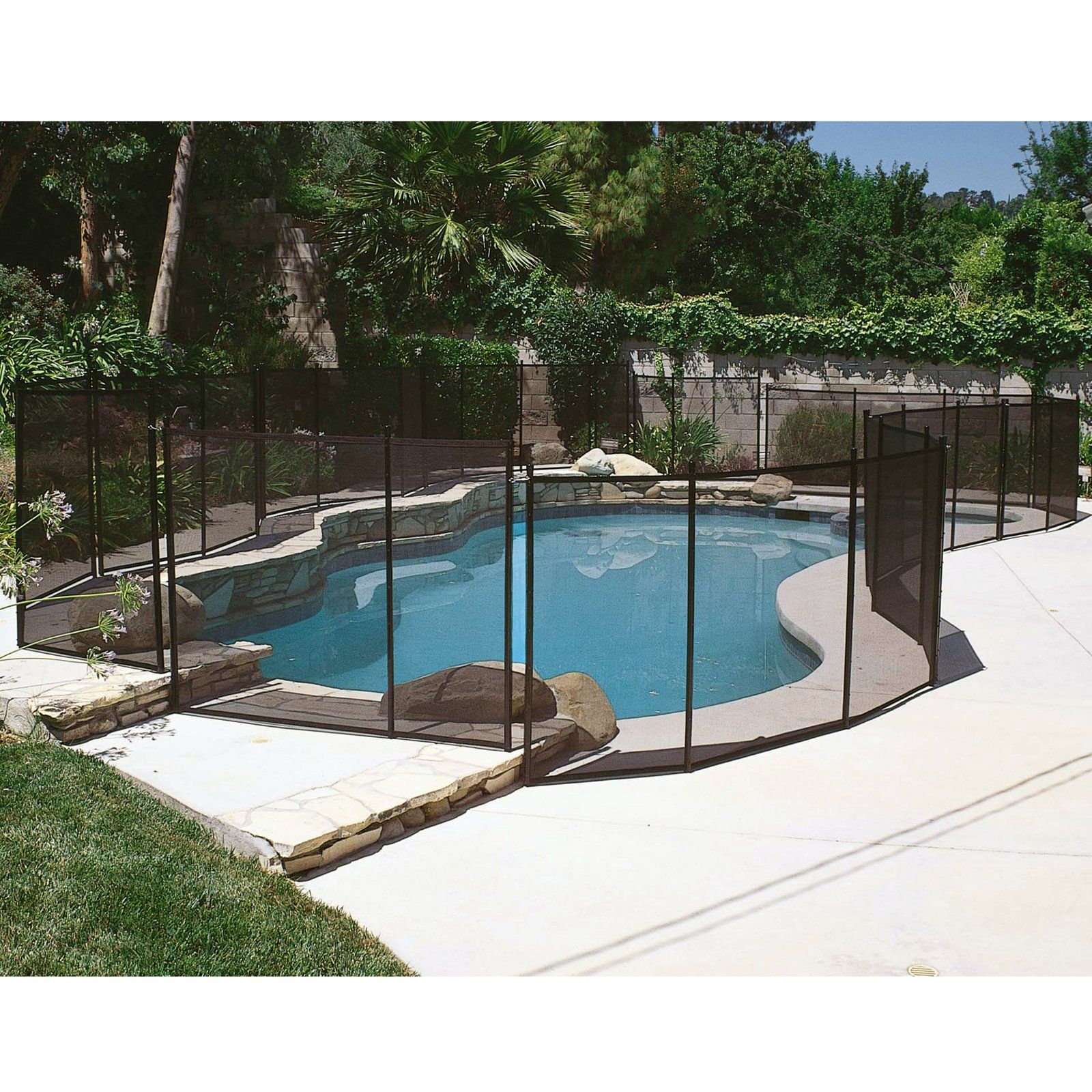 gli 12 ft safety fence for in ground pools swimming pools