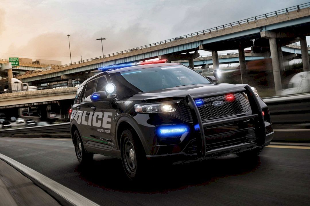 The All New 2020 Ford Police Interceptor Utility The First Ever Pursuit Rated Hybrid Police Suv Ford Police Police Cars Interceptor