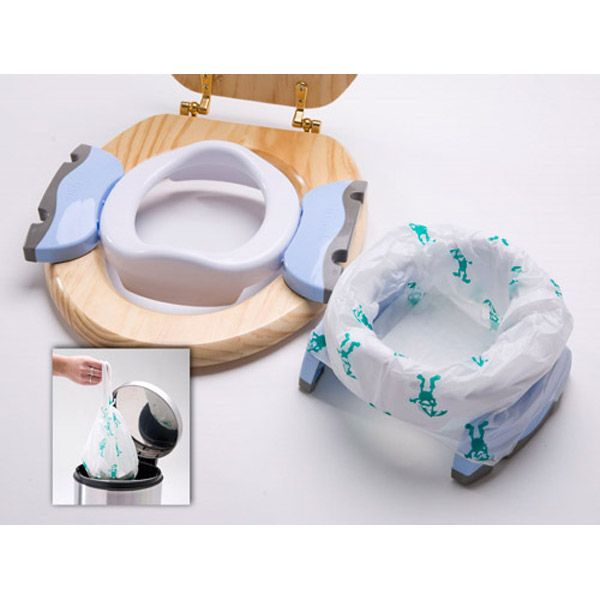 2 In 1 Travel Potty Chair Seat Potette Plus Color Blue