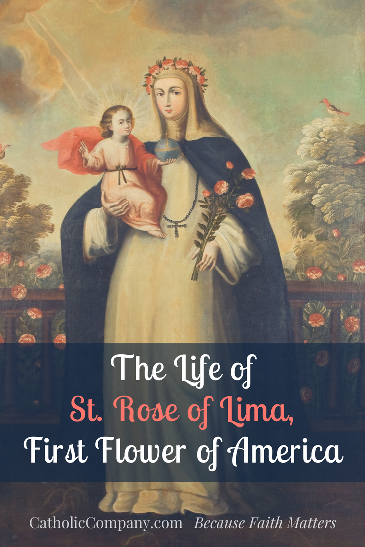 biography of saint rose of lima english literature essay Saint rose of lima, tosd (april 20, 1586 - august 24, 1617), was a spanish colonist in lima, peru, who became known for both her life of severe asceticism and her care of the needy of the city through her own private efforts a lay member of the dominican order, she was the first person born in the americas to be canonized by the catholic church.