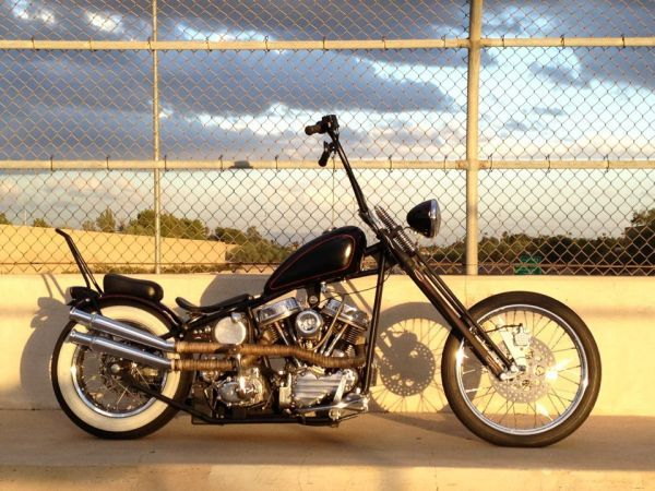 Vintage Harley Davidson Panhead Chopper   Panhead chopper ...