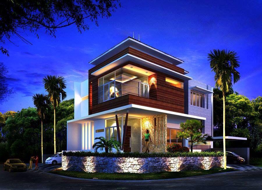 Corner Lot Great Look Architecture Design Residential Architecture Architecture