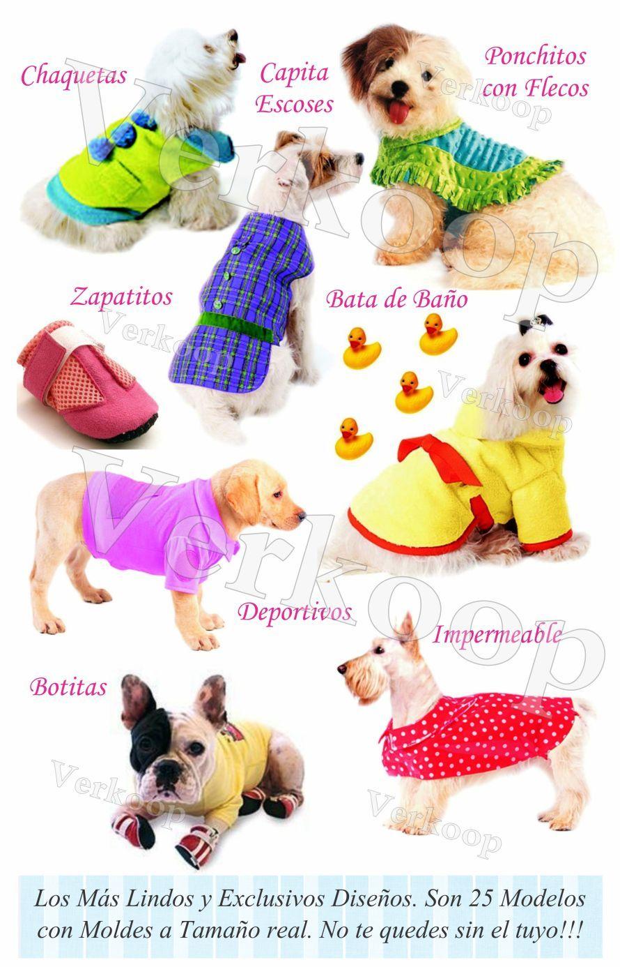Ropa para Perros - Nivel Avanzado - Diseños Exclusivos con Moldes ...