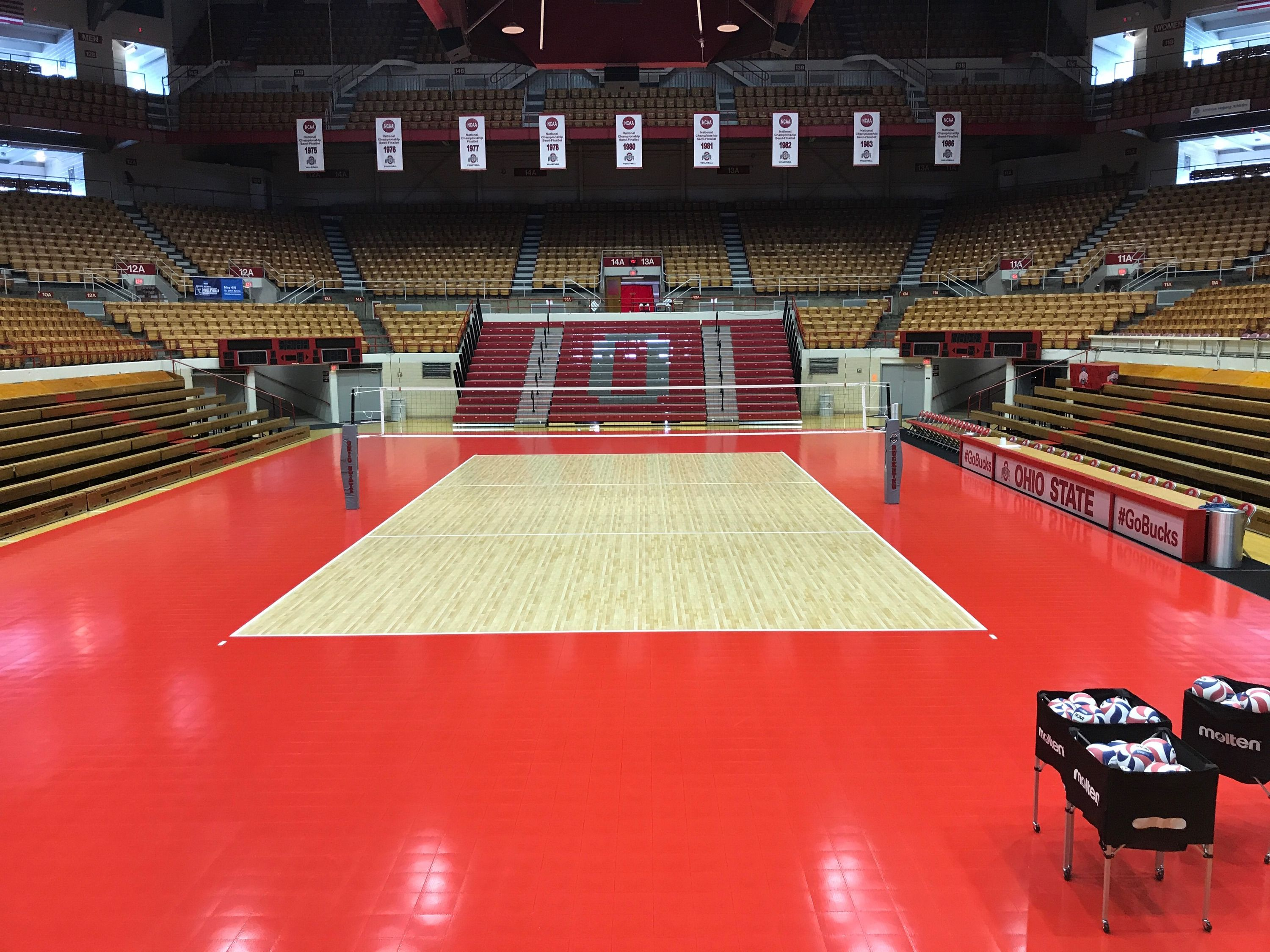 2017 Ncaa Men S Volleyball National Championship Sports Imports Indoor Volleyball Equipment Photo Courtesy Osu At Volleyball National Championship Volleyball Equipment Outdoor Volleyball Net