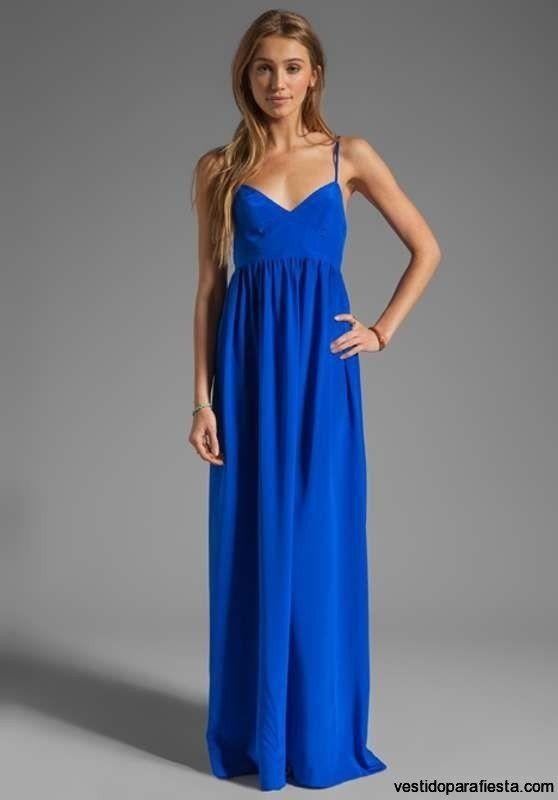 Vestidos Largos Sencillos Buscar Con Google Vestidos
