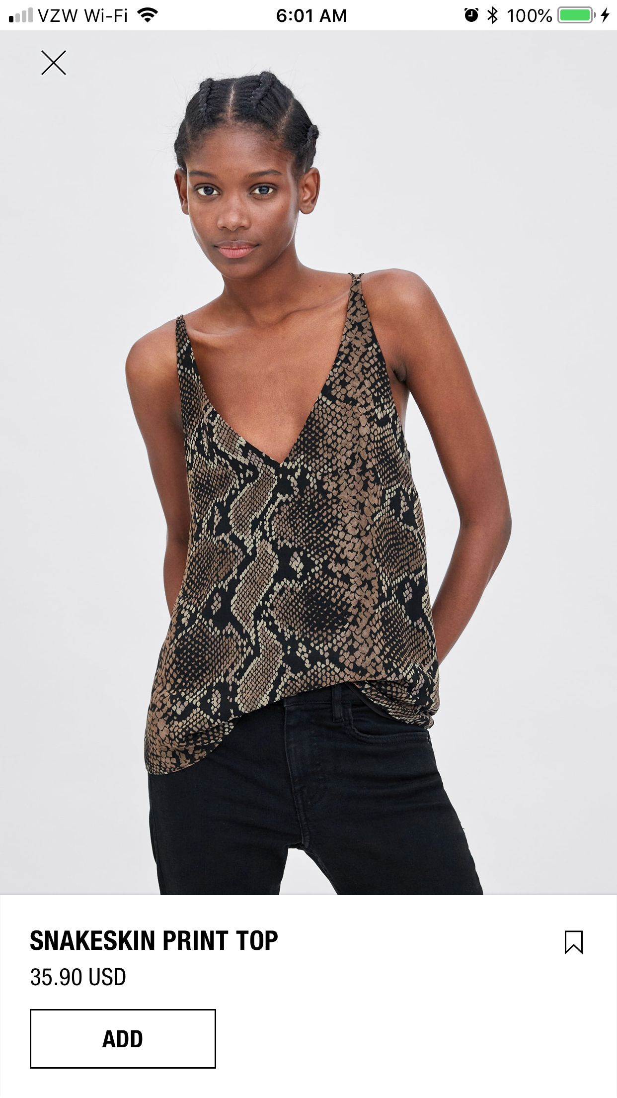 2e0cb93bcfdf0b Snake Skin, Night Out, Shirt Blouses, Passion For Fashion, Camisole Top,