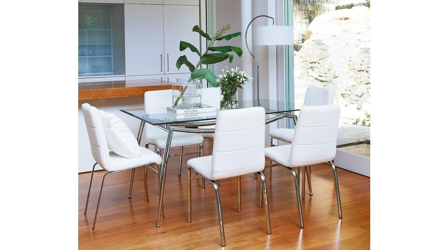 Barley lexus 7 piece dining suite harvey norman 1500 x 900 for Dining room tables harvey norman