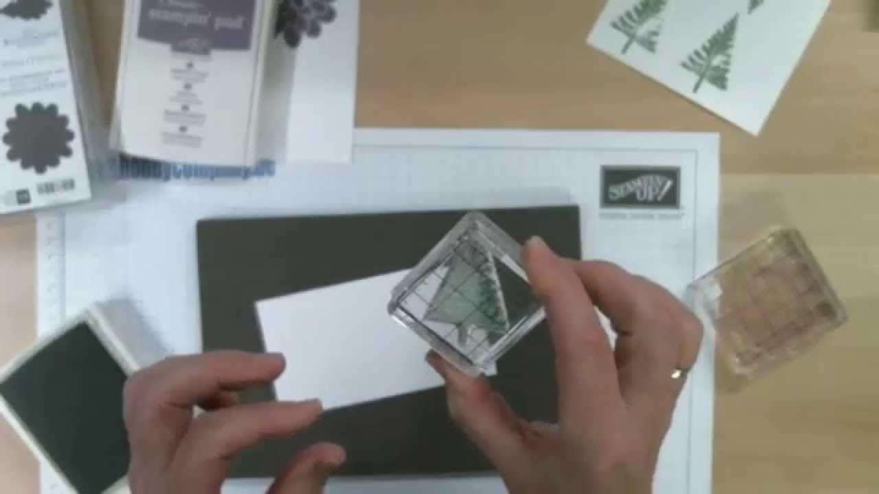 Anleitung, wie verwende ich Photopolymerstamps
