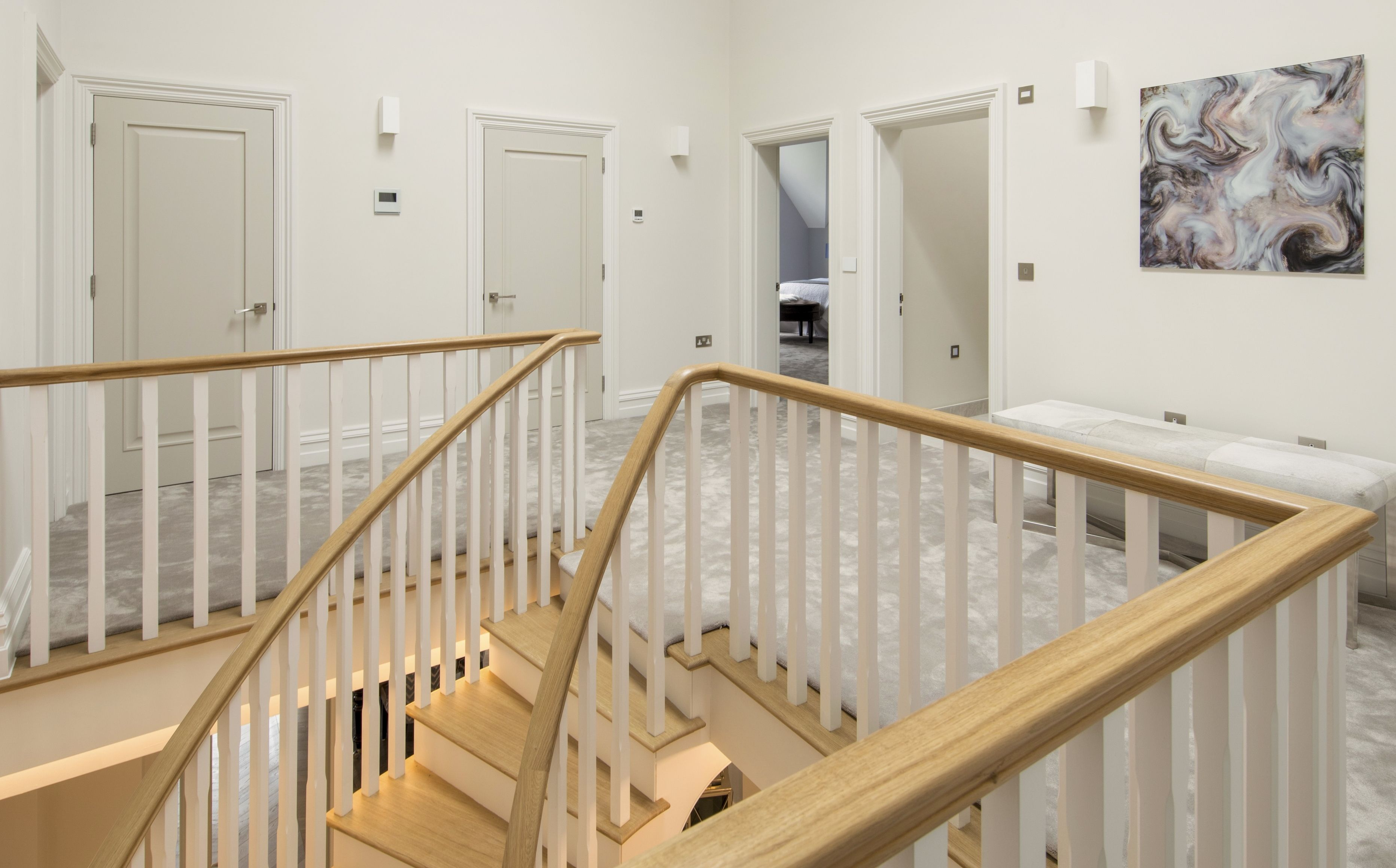 Galleried Landing Staircase Design Staircase Home