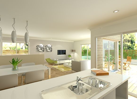 Pink D On Open Plan Living  Pinterest  Open Plan Living And Interesting Open Living Kitchen Design Inspiration