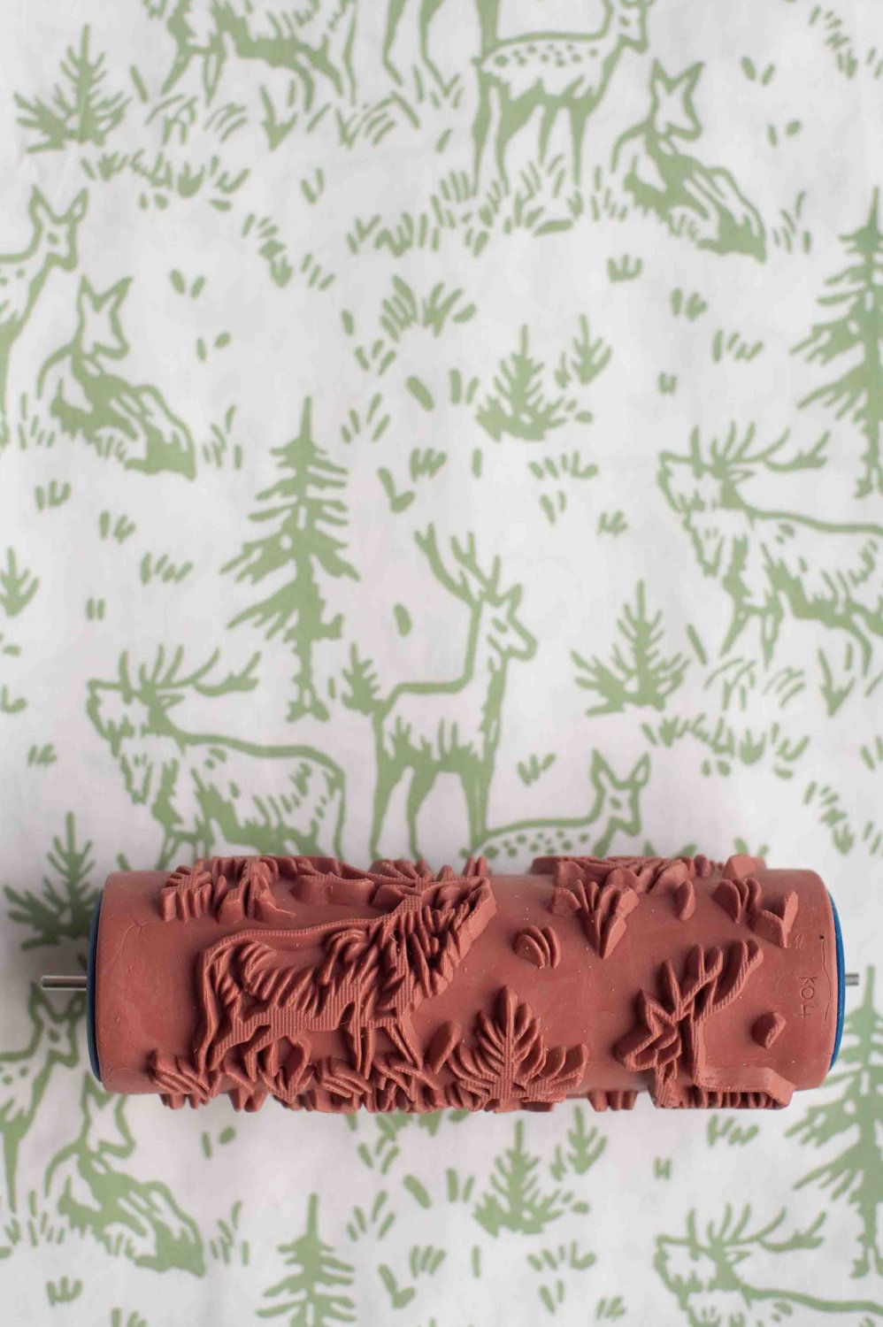No 6 Patterned Paint Roller From The Painted House Patterned