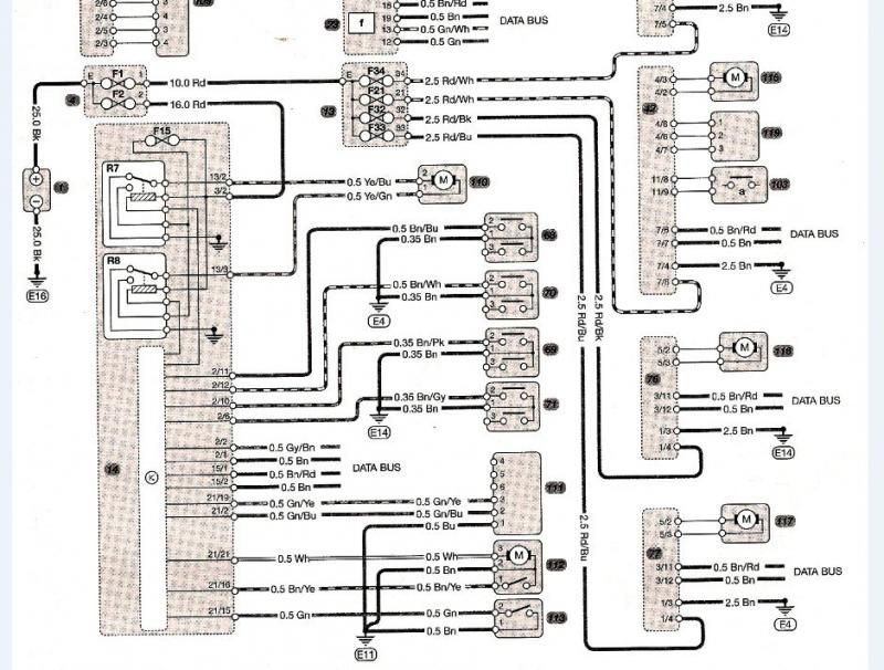 Mercedes W124 Wiring Diagram Free 7 In 2020 Mercedes W124 Mercedes Diagram