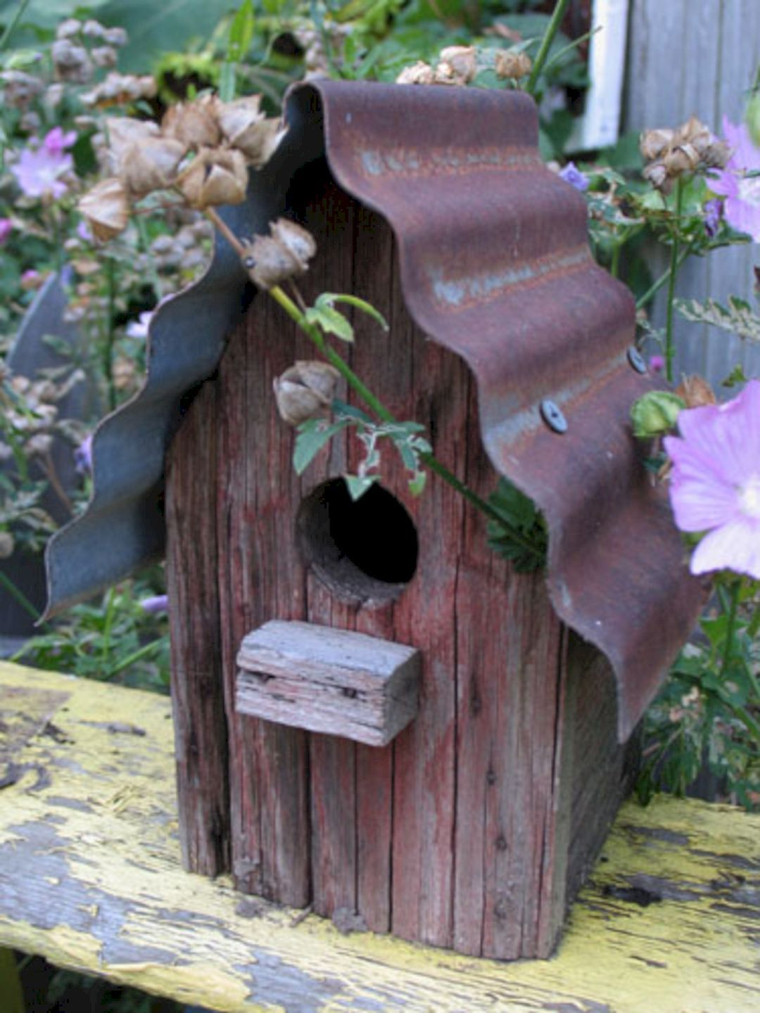 10 Most Popular Birdhouses Rustic For Your Beautiful Garden #birdhouses
