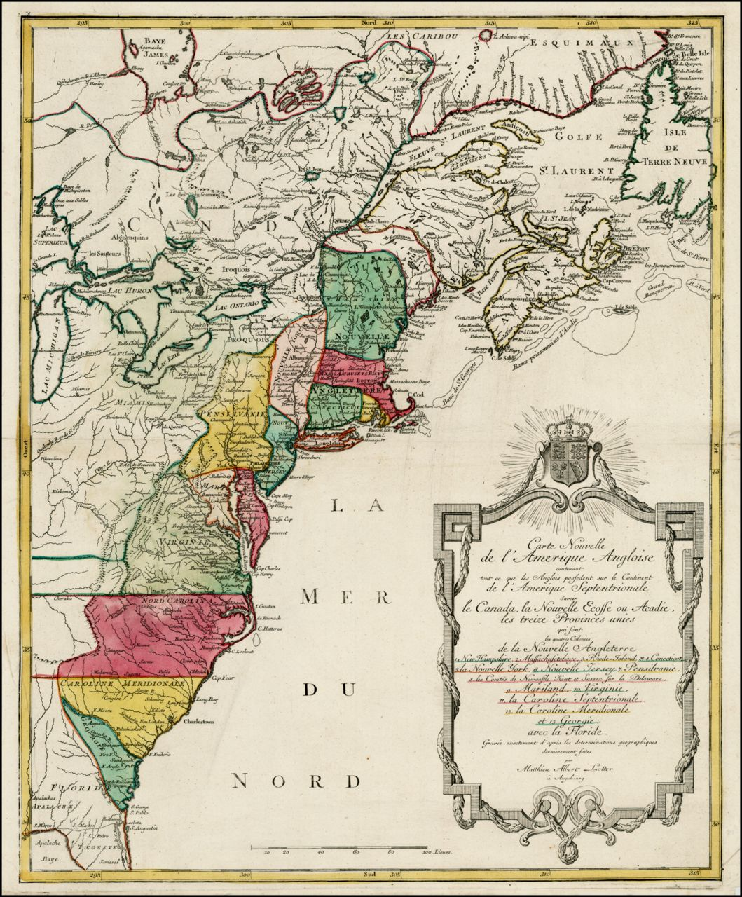 Original Thirteen Colonies Maps Antique Maps Map Historical Maps - Us-map-with-13-colonies