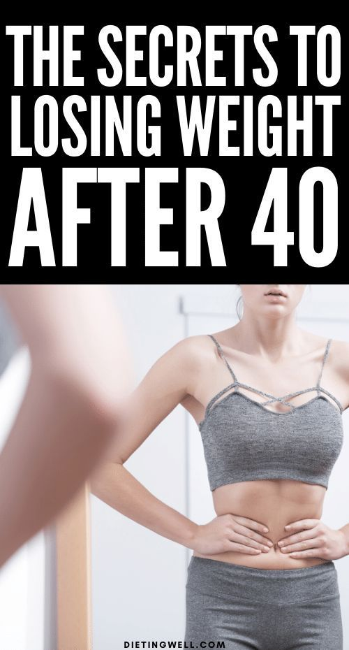 It's no secret that losing weight after 40 can be difficult for some women. As you age, you begin to lose muscle mass, causing your metabolism to slow down. Here's how to eat and train to lose weight after age 40.
