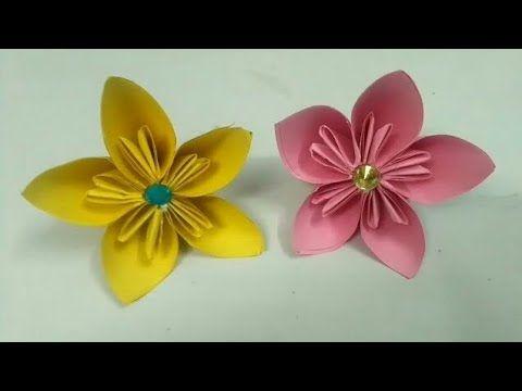 Easy kusudama paper flower method 2 crafts pinterest easy kusudama paper flower method 2 mightylinksfo