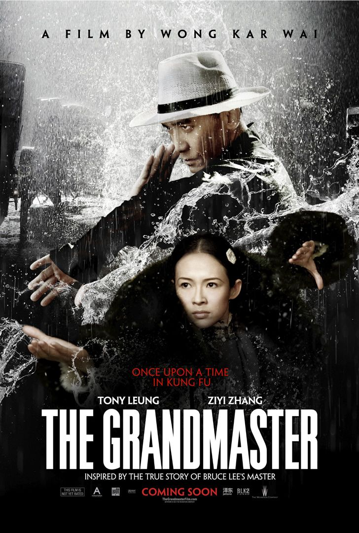 Wong Kar Wai's 'The Grandmaster' adds final poster with Tony Leung and Ziyi Zhang