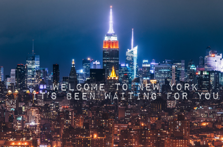 Welcome To New York by Taylor Swift