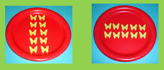 """Arrays and the Commutative Property of Multiplication. """"A product is not changed at rearrangement of its factors"""". Tutors, set up a similar example with available manipulatives.  Tutees record definition in the math journal."""