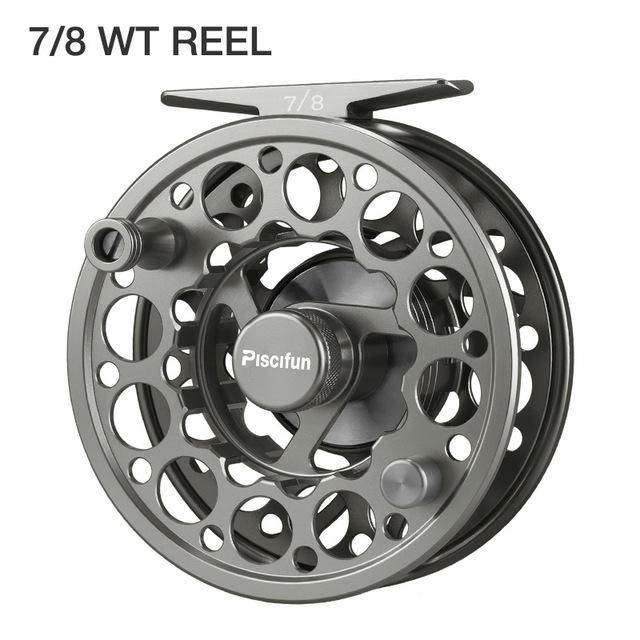 CNC Machined Fly Reel 3//4 5//6 7//8 9//10WT Anuminum Fly Fishing Reel