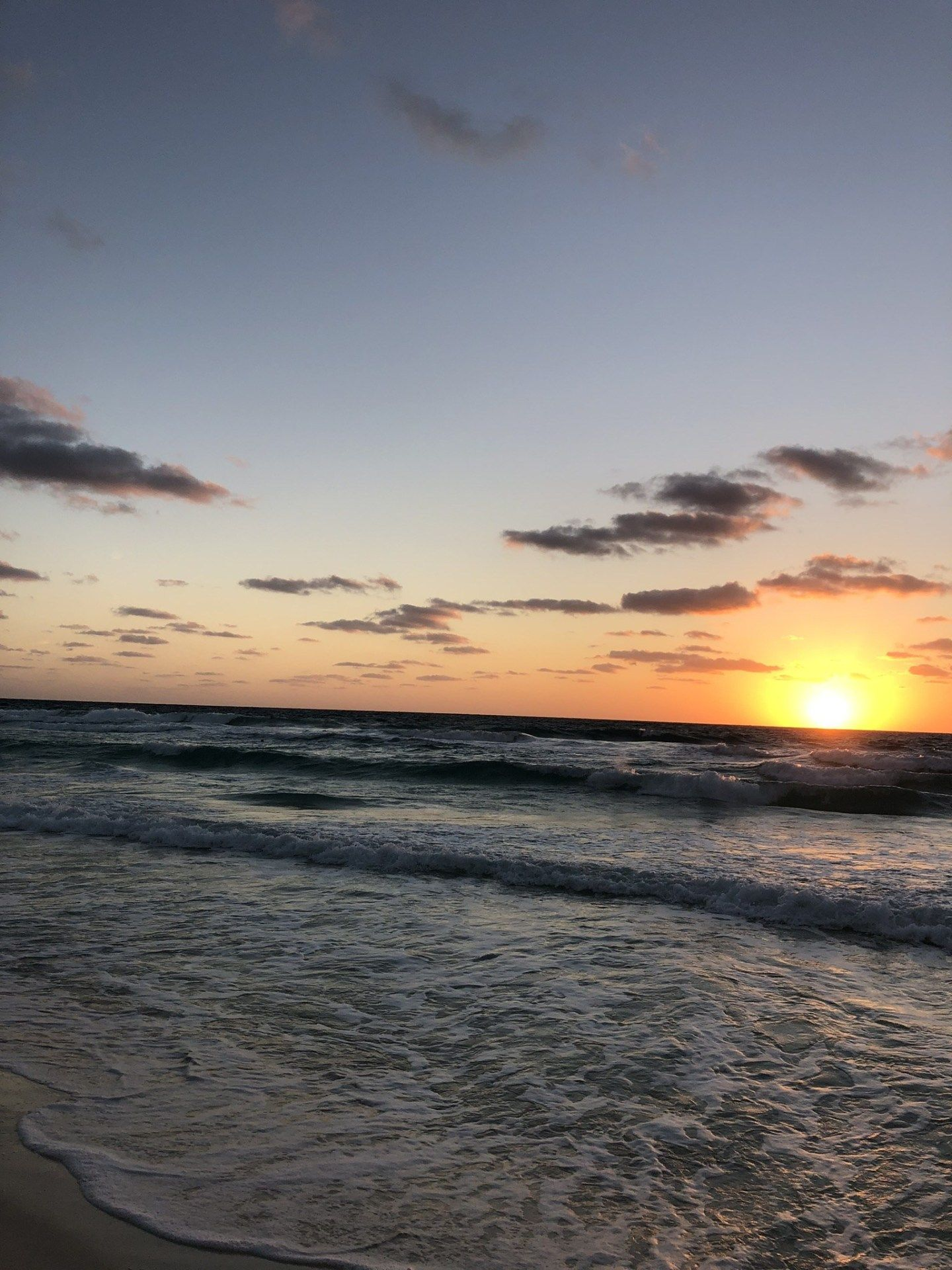 Sunrise On The Beach At Secrets The Vine, Cancún In Mexico