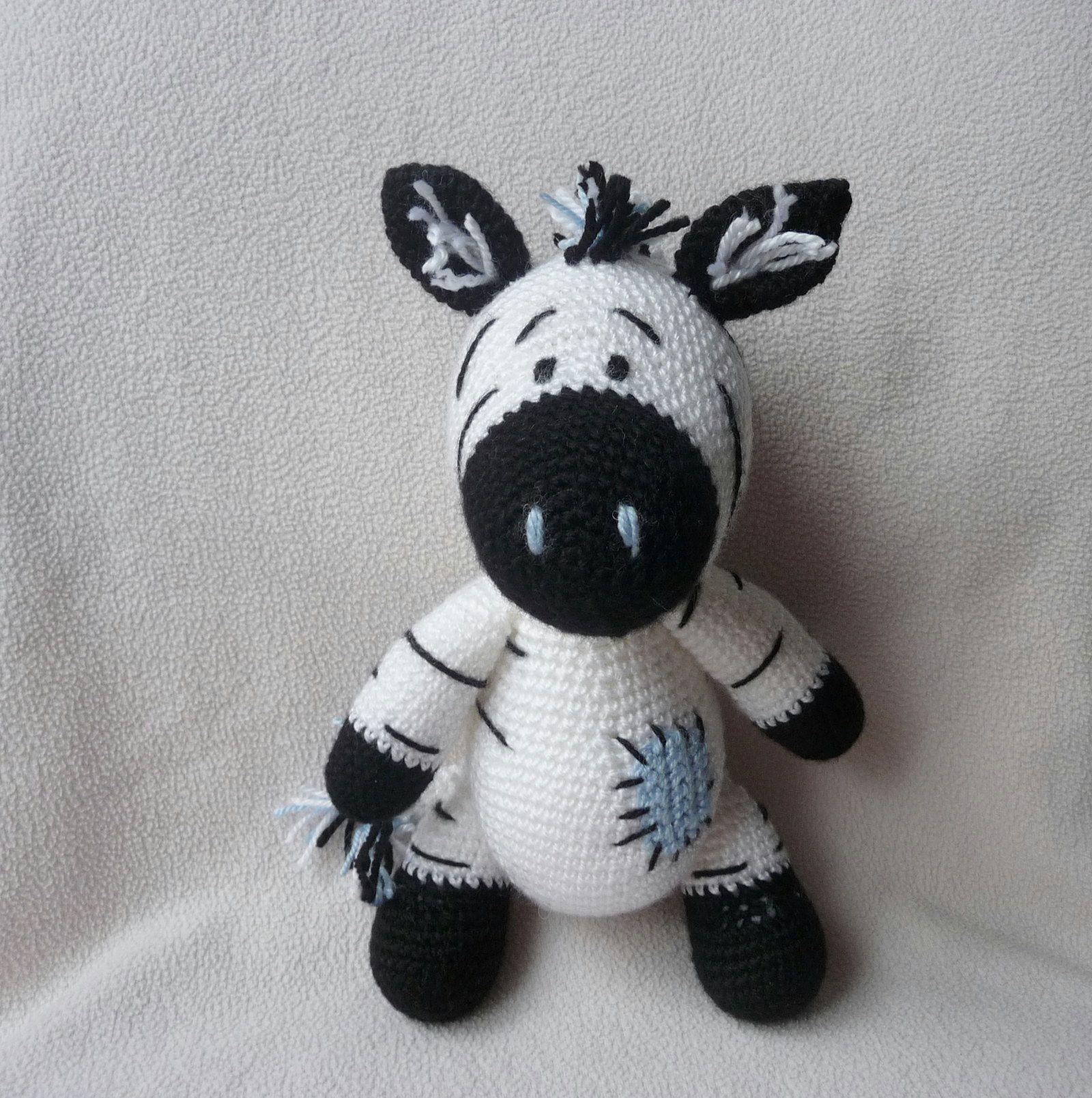Zebra Debra. (Finished item available to purchase). | Häkeln ...
