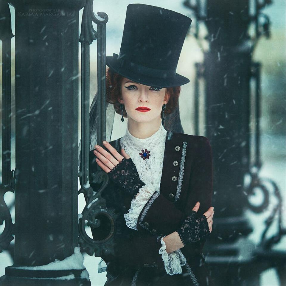 Model: Catherine Ryabenko - Photography Margarita Kareva