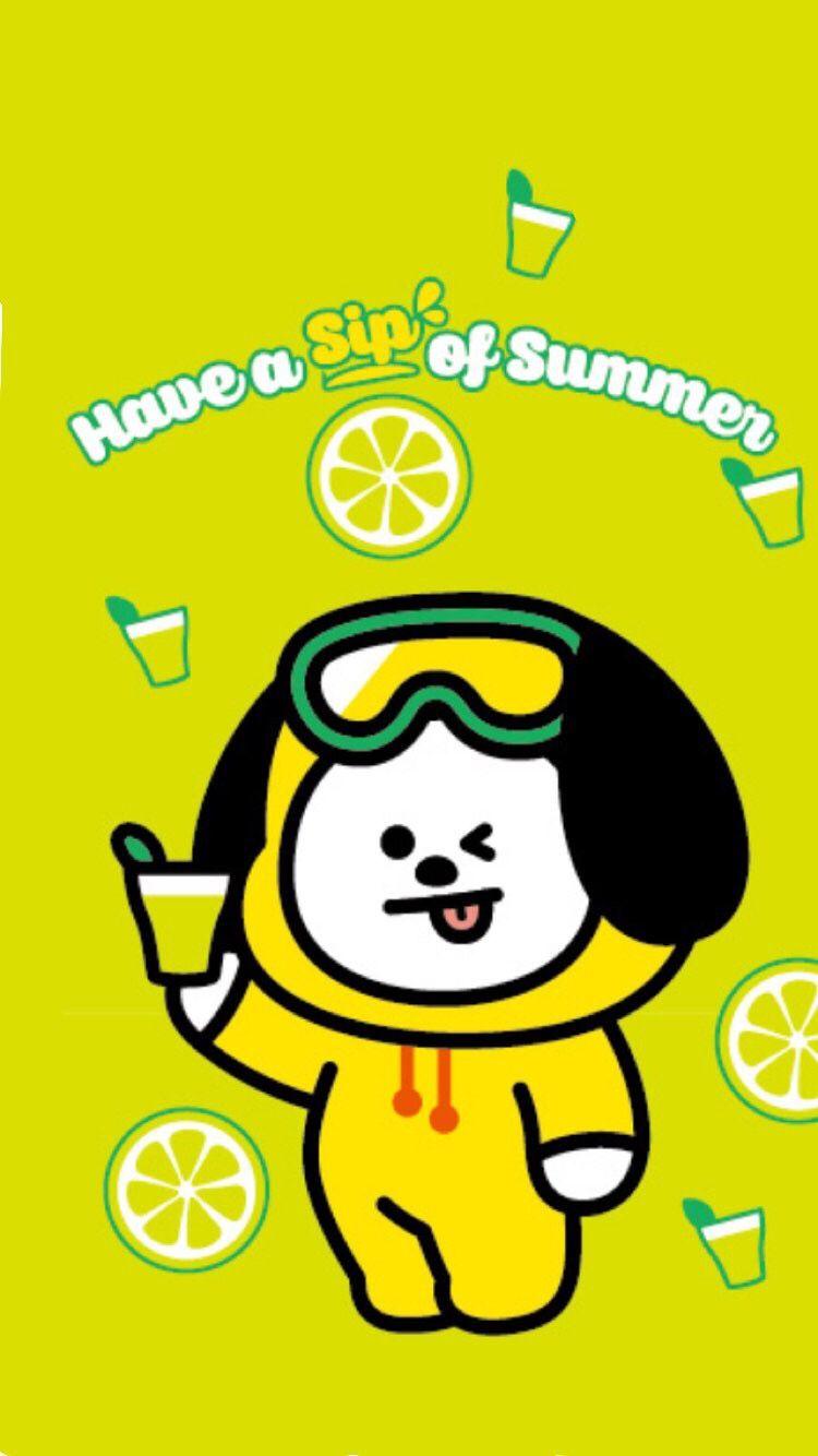 pin oleh itsme thaotruong di bt21 배경 wallpaper lucu kartun lucu