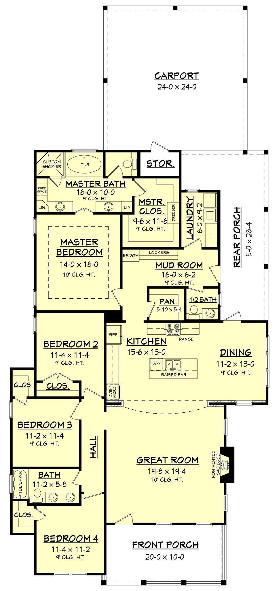 Cherrywood House Plan
