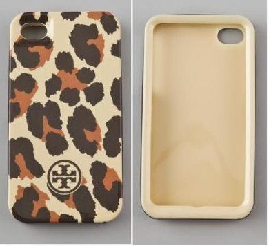 Brand New Tory Burch HardShell Iphone 4/ 4S Cover Bengal Leopard Case