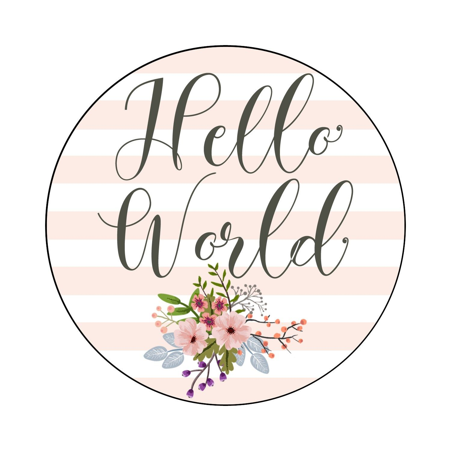 Free printable floral milestone cards baby month