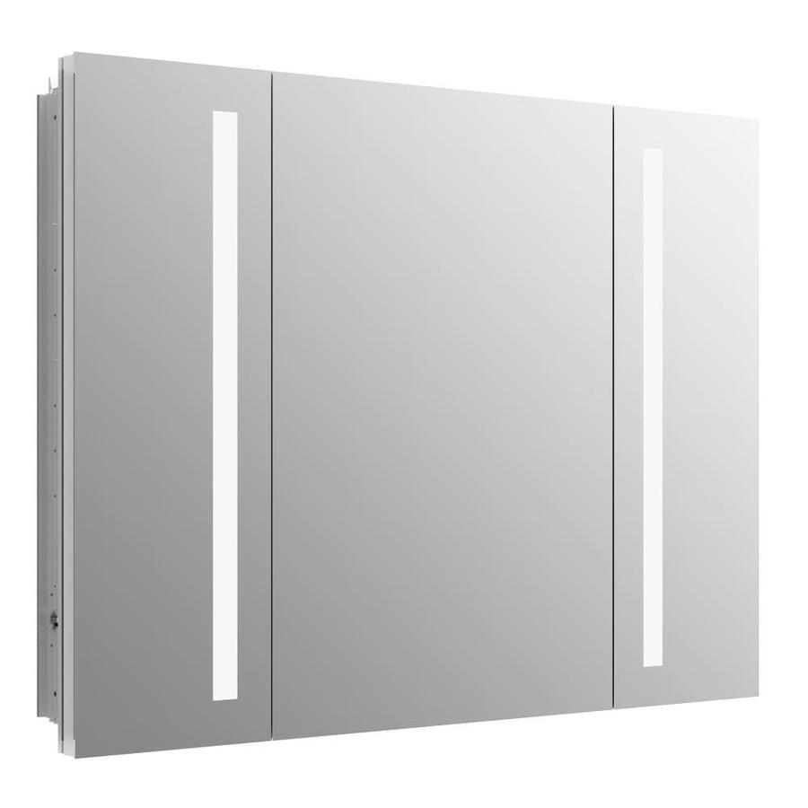 Kohler Verdera 40 In X 30 In Rectangle Recessed Aluminum Mirrored