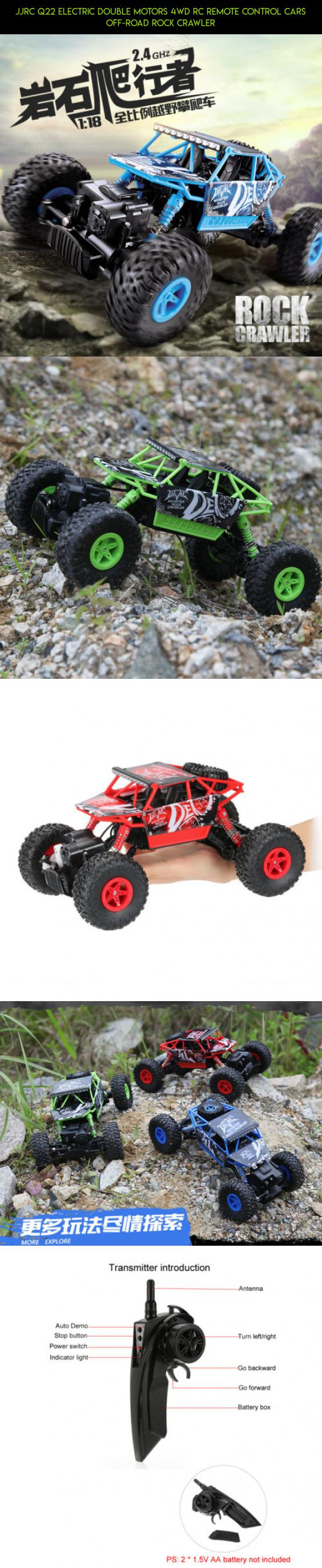Jjrc Q22 Electric Double Motors 4wd Rc Remote Control Cars Off Road Radio Controlled Motor Switch R C Rock Crawler