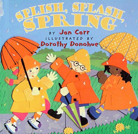 Splish, splash, spring | Spring books, Dramatic play activities, Book  projects
