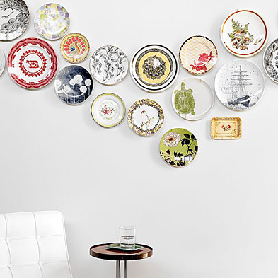 Decorating with plates!