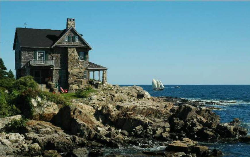 Henry Patson Clark Shingle Style In Kennebunkport Maine