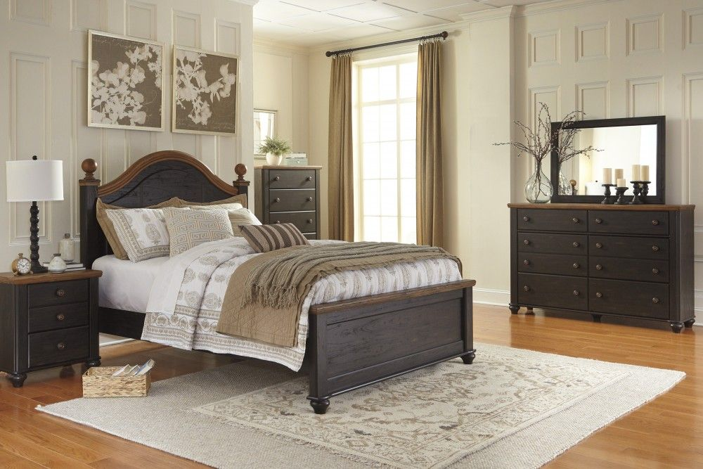 Maxington 5 Pcbedroom  Dresser Mirror & Queen Panel Bed Awesome Ashley Bedroom Dressers Decorating Design