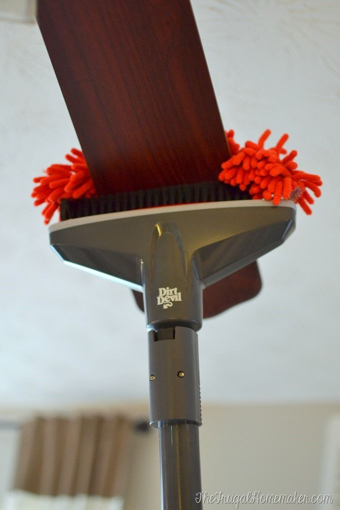 An Attachment To Specifically Clean And Vacuum Your Ceiling Fan Love This Devil 360 Reach Cleaner