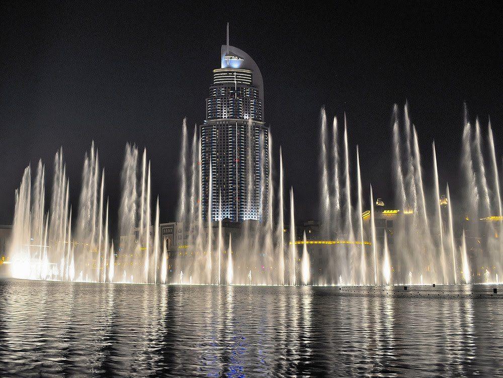 Awesome Arabic Dubai Mall Fountain Show Burj Khalifa Day Night Hd