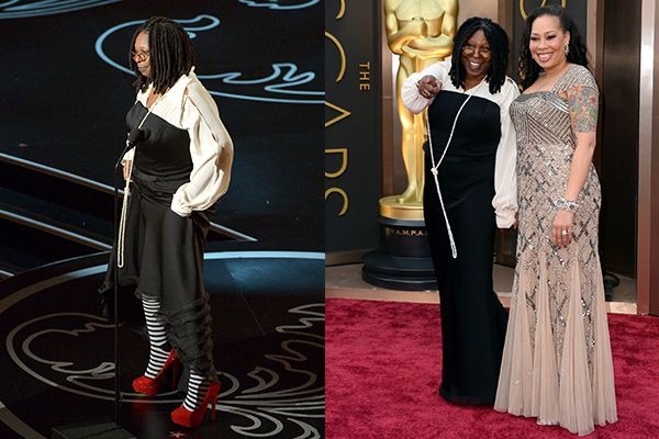 Worst Dressed Whoopi Goldberg At The Oscars