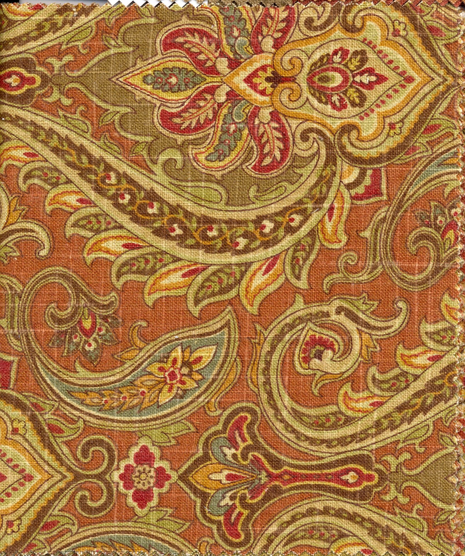 """Not everyone has the time or money for a full makeover of their living room. Living Room Fabric - color """"Rust""""   Living room color ..."""