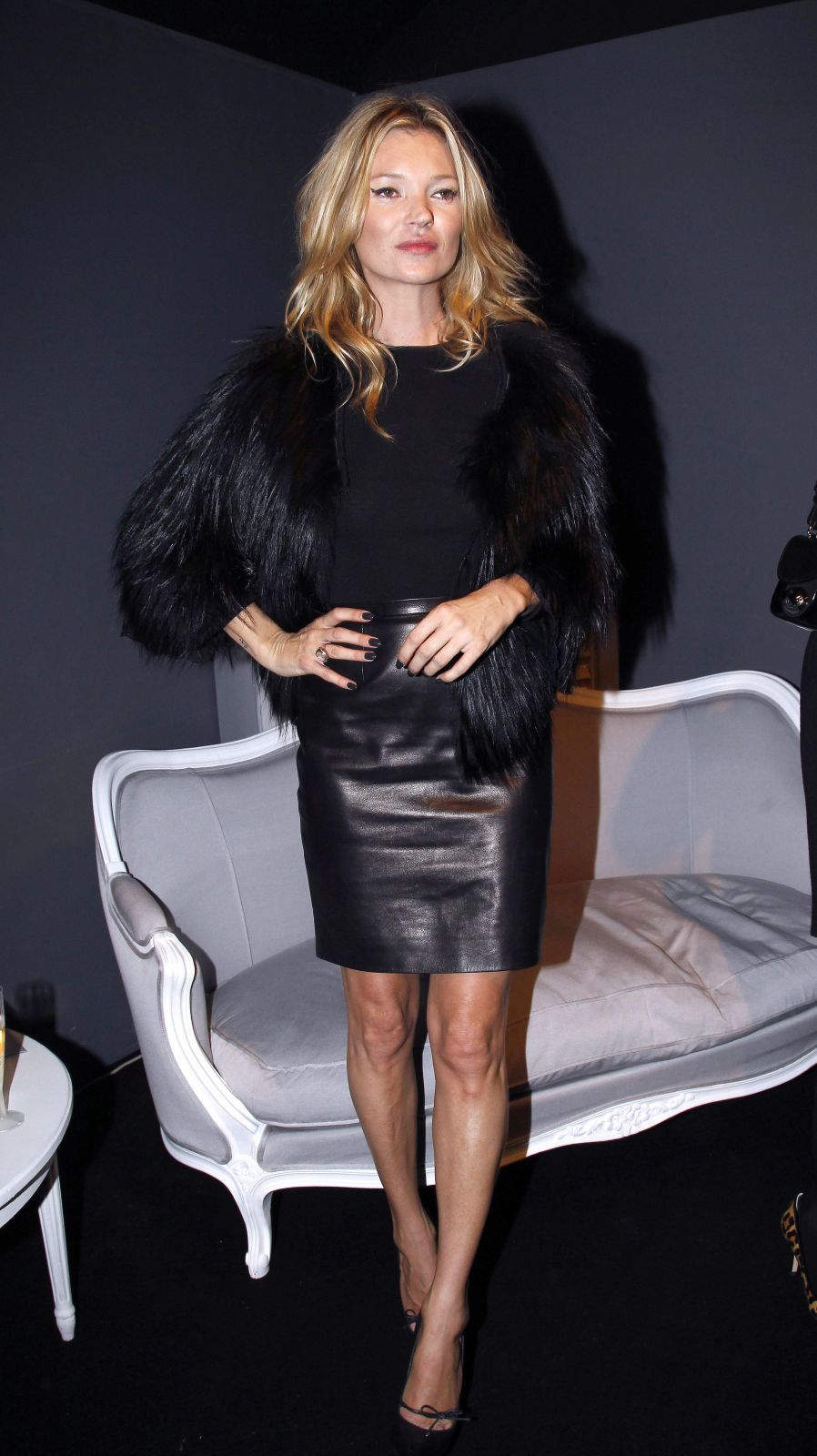 leather pencil skirt | Fall/Winter | Pinterest | Kate moss style ...